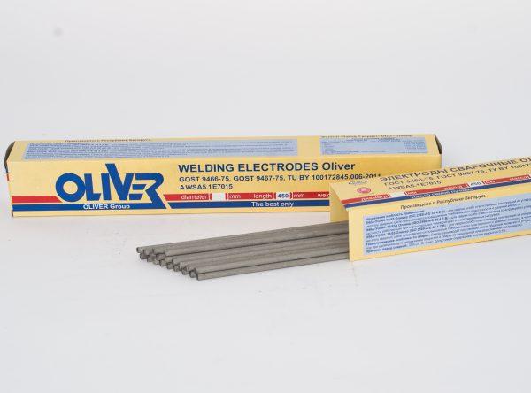 Электроды для ручной дуговой сварки Оливер ЛБ-52 2.5мм 3кг
