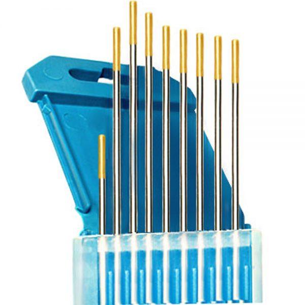 Электроды для аргонодуговой сварки WL15 (Золотые) 1.6мм