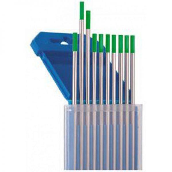 Электроды для аргонодуговой сварки WP (Зеленые) 1.0мм