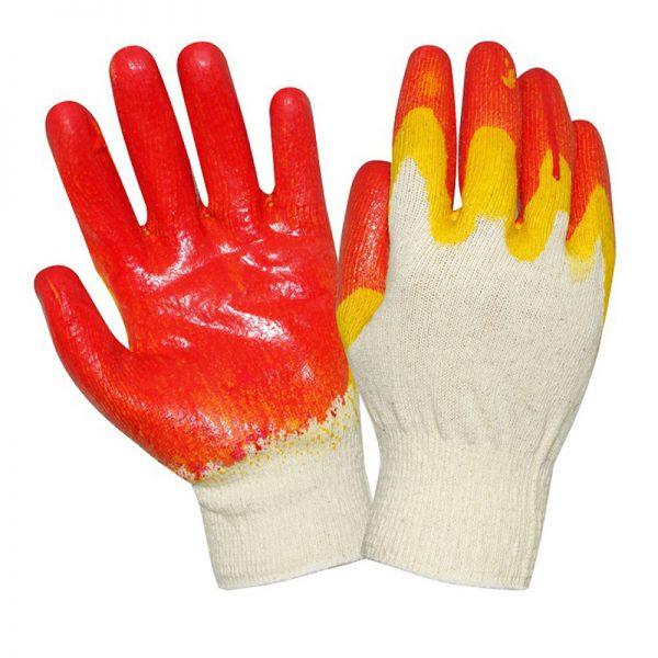 Перчатки рабочие х/б (двойной облив)